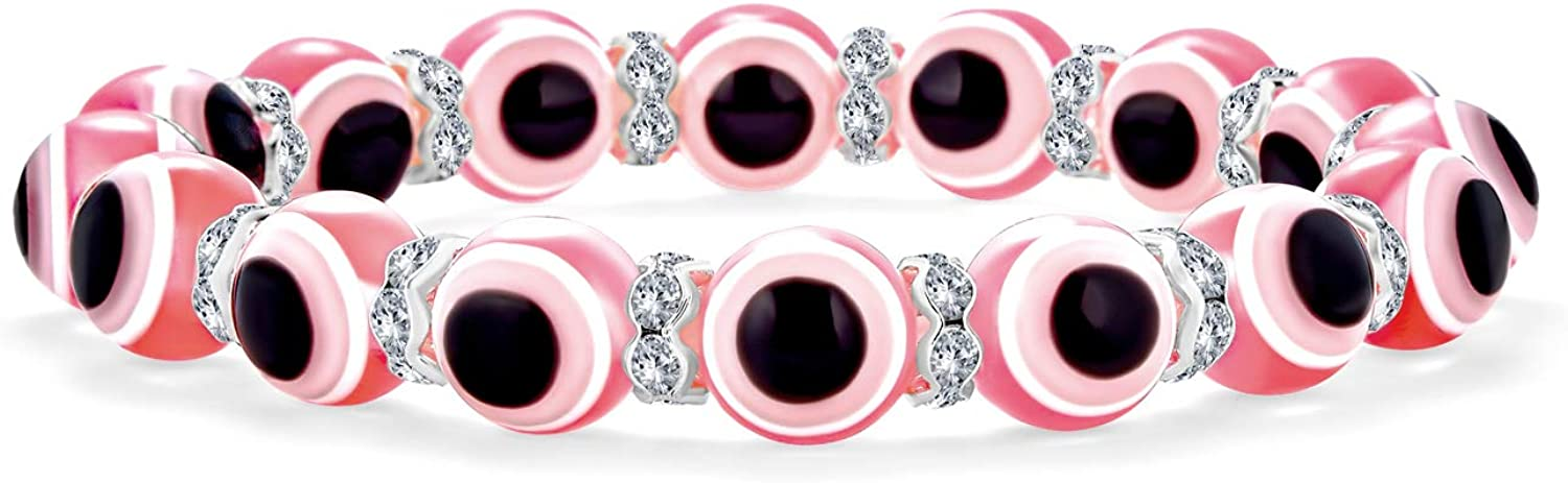 Bling Jewelry Price reduction Translucent Colorful Turkish Bead Online limited product Good Luck Glass