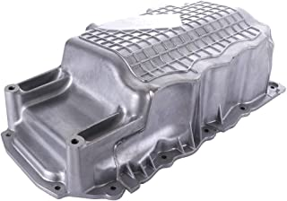 TUPARTS Engine Oil Pan for Chrysler PT Cruiser Dodge Neon SRT-4 03 04 05 06 07 08 09 10 with Engine Oil Drain Pan L4 2.4L with OE 264-241 Oil Drip Pan Oil Change Pan