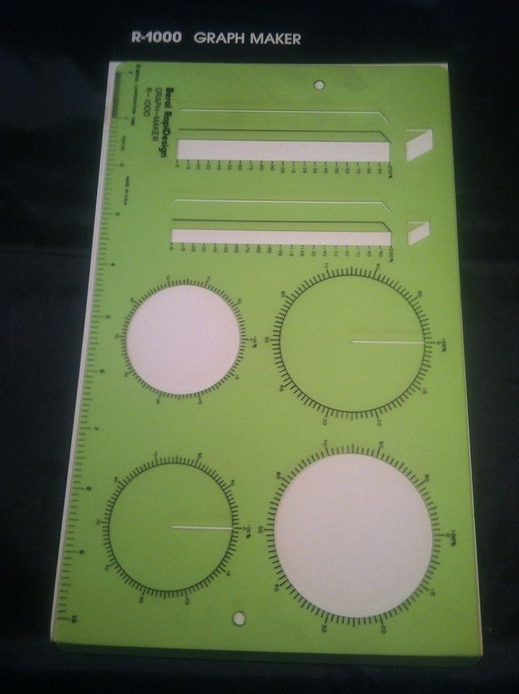 Berol, Rapidesign, r-1000, graph Maker B004670TB8 | Adoptieren