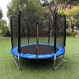 Trampolin Ersatznetz 120 140 150 183 244 306 cm Sicherheitsnetz, Kinder Gartentrampolin mit Netz...