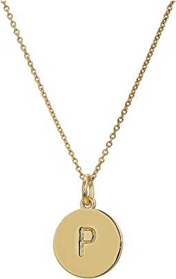 Kate Spade Pendants P Pendant Necklace