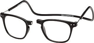 Clic Magnetic Reading Glasses Manhattan in Black +1.50