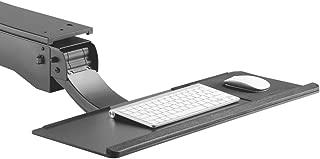 Maclean Soporte MC-795 CAJÓN Estante para Teclado o/y ratón Accesorio para Escritorio Mesa Escuela hogar Negocio Oficina para Trabajar Sentado o de pie