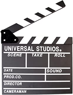 Foto4easy Professional Vintage TV Movie Film Clap Board Slate Cut Prop Director Clapper