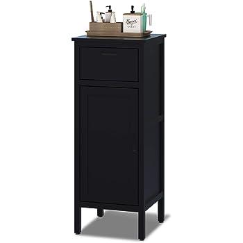 Interbuild MIA Bathroom Side Floor Cabinet 40x40x102cm Antracite
