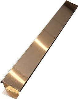 ビーワーススタイル コンロ奥カバー シルバー 64.5×7.3×4cm ステンレス製 排気口カバー 170002