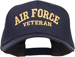 e4Hats.com Air Force Veteran Letters Embroidered Cotton Cap