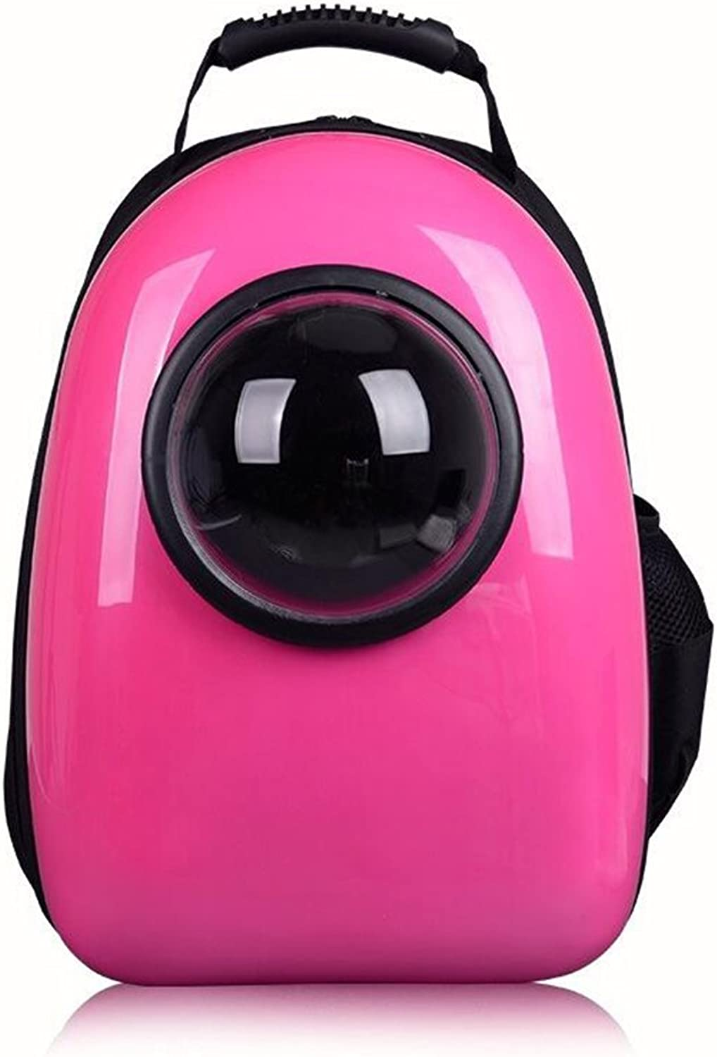 Feng Space Capsule Pet Backpack Cat And Dog Carrier Portable Waterproof Breathable Hemisphere Cushioning Cat And Dog Puppy Outdoor Travel Walking Pure Yellow, Green, Pink