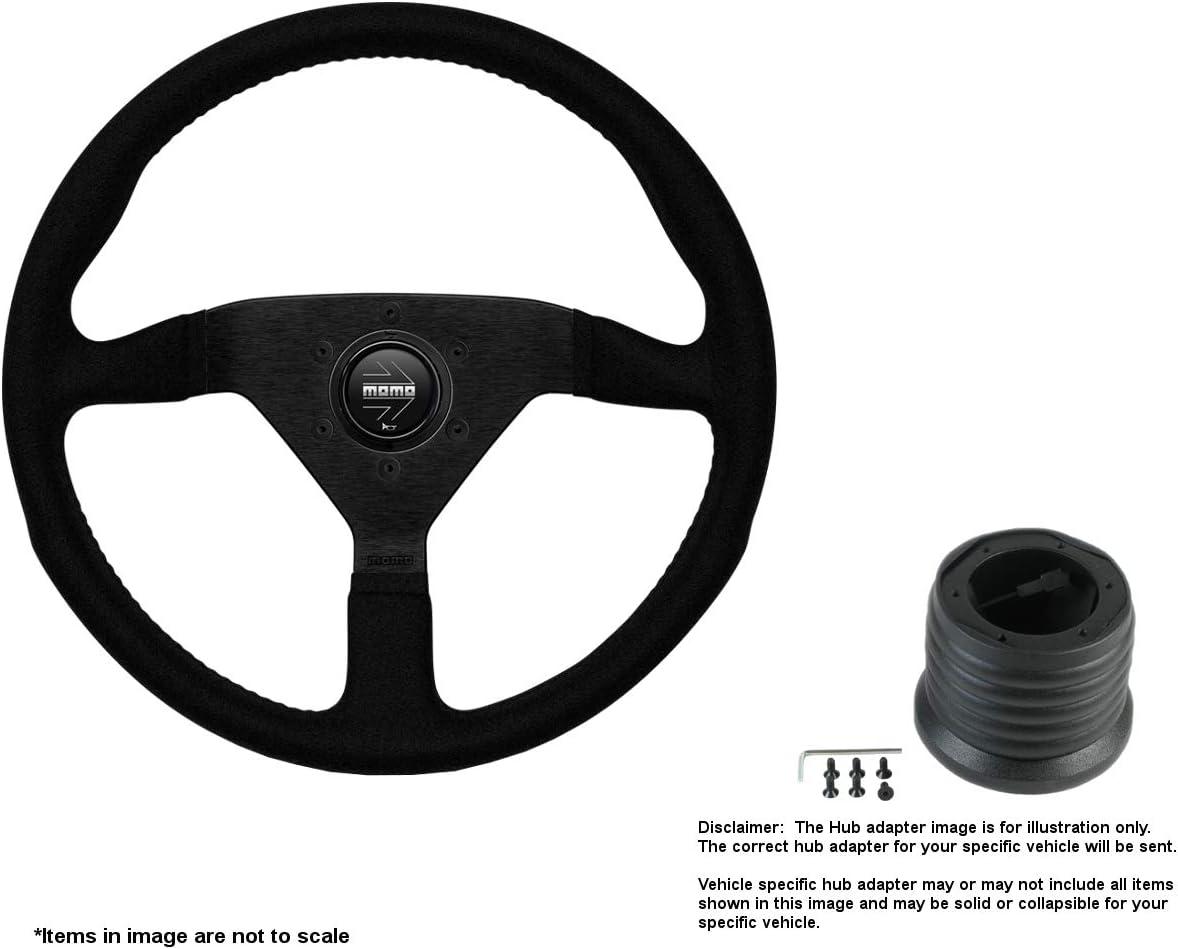 MOMO Montecarlo Super Special SALE held 320mm 12.6 Fashion Inches Alcantara w B Wheel Steering