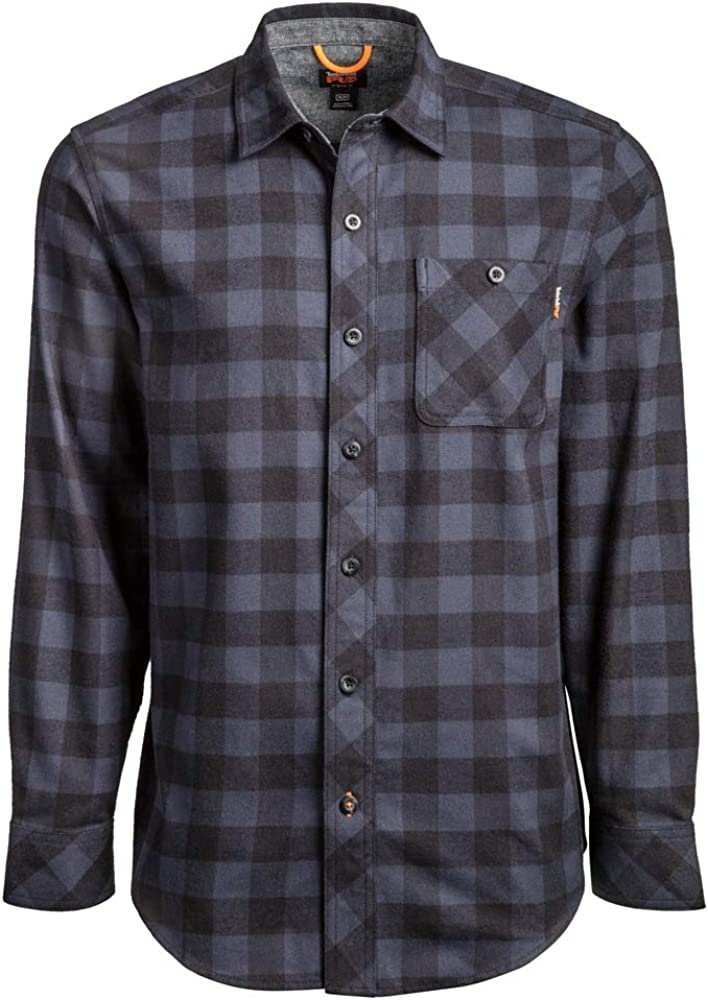 Timberland PRO Men's Woodfort Mid-Weight Direct sale of manufacturer Shirt Big Max 48% OFF Work Flannel