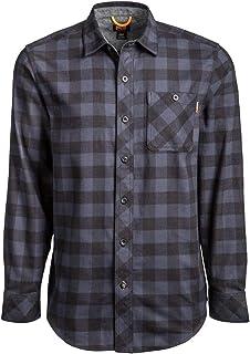 Timberland PRO Woodfort A1V49 - Camisa de trabajo de franela de peso medio para hombre