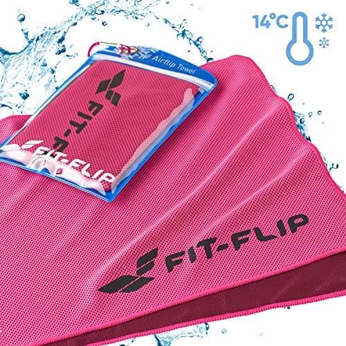 Verkoelende sporthanddoek voor sport & outdoor, koeldoek en fitness handdoek als cadeau voor mannen & vrouwen