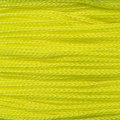 Paracord Planet Twisted Nylon Twine 1100 Feet Neon Yellow