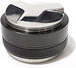 53mm Coffee Distributor & Tamper, Santo Dual Head Coffee Leveler Fits for 54mm Breville Portafilter, Adjustable Depth- Pro...