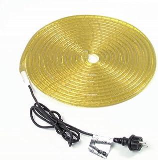 EUROLITE RUBBERLIGHT RL1-230V geel 5m | Flexibele slang voor decoratieve verlichting