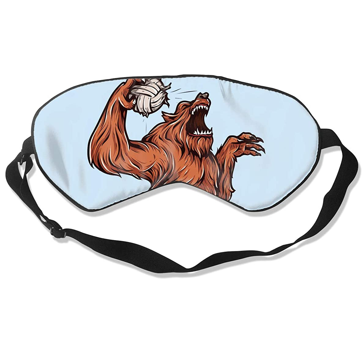 Sleep Mask Volleyball Eye Cover Blackout Eye Masks,Breathable Blindfold