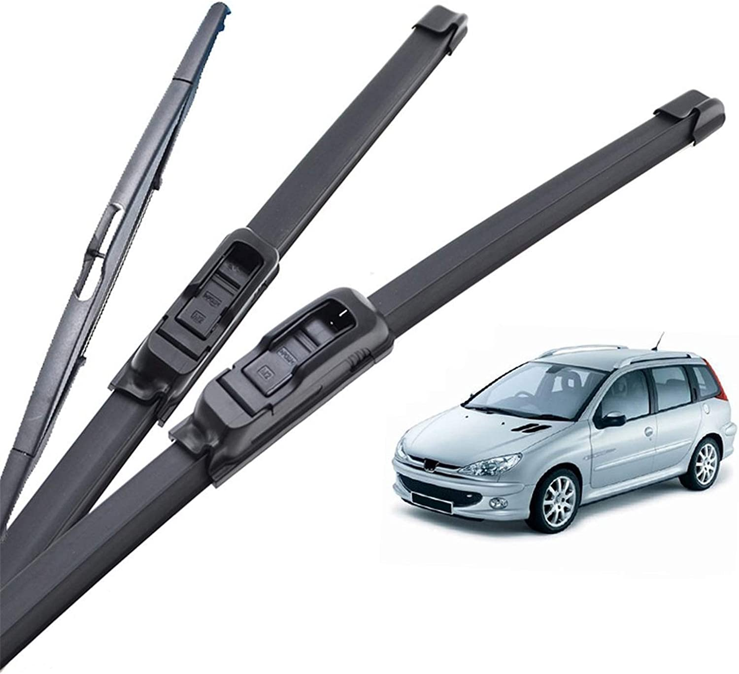 Max 65% OFF Wiper Blades Front RearWindshield for Deluxe Windscreen Pe