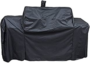 Stanbroil Outdoor Heavy Duty Waterproof Grill Cover for Oklahoma Joe's 8899576 Longhorn, Outdoor Charcoal/Smoker/Gas Combo Grill Cover, Offset Smoker Cover, All Weather Protection, Black