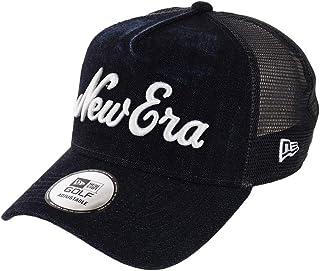 (ニューエラ) NEW ERA ゴルフ キャップ スナップバック 9FORTY JAPAN DENIM ウォッシュドデニム/ネイビーメッシュ GOLF FREE (サイズ調整可能)