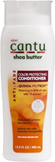 Cantu Shea Butter Anti Fade Color Protecting Conditioner with Quinoa Protein, 13.5 Fluid Ounce