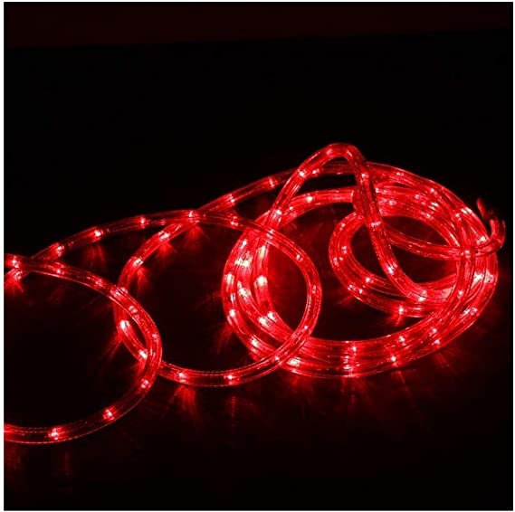Cordon lumineux rouge au mètre Ø13mm