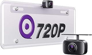eRapta ERT11 3rd Generation Backup Camera License Plate Rear View Reversing Camera for Car Pickup Truck SUV RV Van 720P HD...