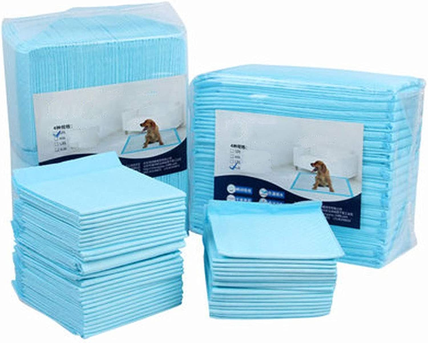 North cool pet Pee Pads Puppy Dog Kitten Training Pee Pads Toilet Diapers Ultra Absorbent with Odour Control Technology, Dog Diapers (Size   80pack)