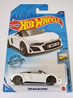 Hot Wheels 2020 Factory Fresh 2019 Audi R8 Spyder, White 175/250