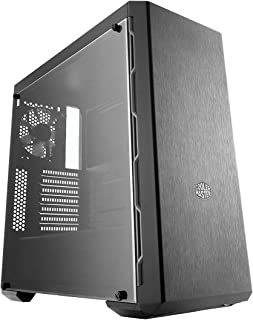 Cooler Master MasterBox MB600L ATX Mid Tower Case with Support for 4x Fans and Water Cooling Radiators - Black - MCB-B600L...