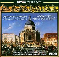 Concerti Per Le Solennita by A. VIVALDI (2012-11-05)