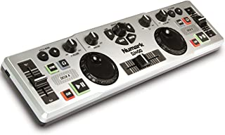 Numark DJ 2 Go Ultra-Portable USB DJ Controller for Mac or PC