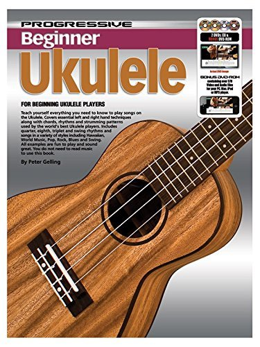 Progressive: Beginner Ukulele (Book/CD/2DVDs/DVD-ROM/Poster)