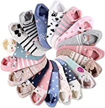 18 Pairs Novelty Animal Cotton Low Cut No Show Ankle Socks for little kids Girls Women Boat Socks