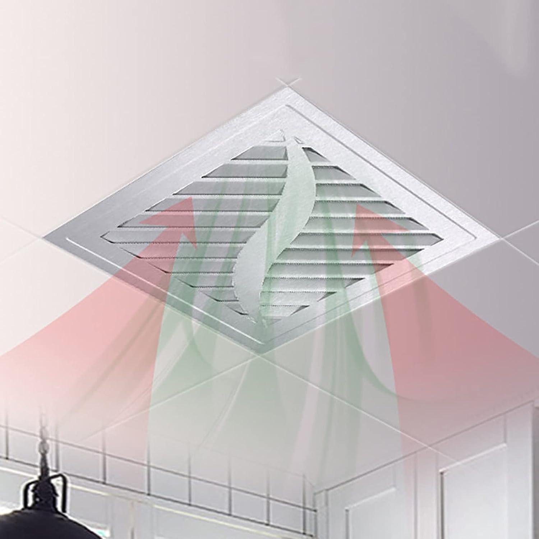 Extractor de aire Cocina, Ventilador de ventilación de escape, Ventilador Extractor de baño, Ventilador extractor de pared silencioso, Instalación en el techo