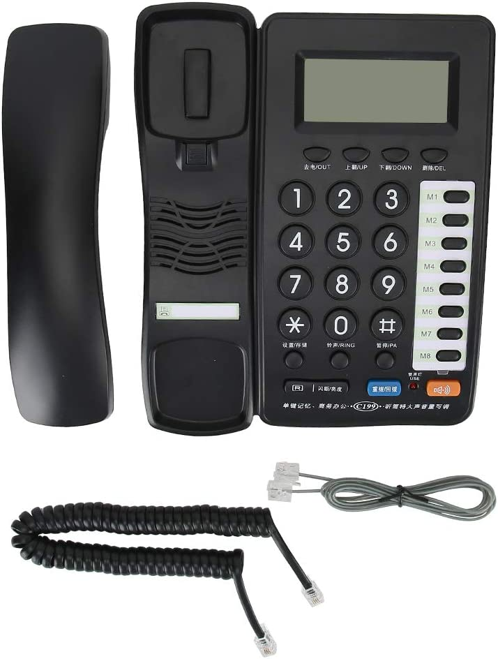 Clear Telephone Landline NEW before selling Direct stock discount Work H Definition Efficiency