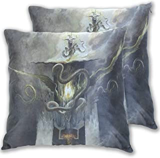 COOSUN Night Bringer Cover Art Square Decorative Throw Pillows Cushion Covers Cases Pillowcases for Sofa Bedroom Car Chair...