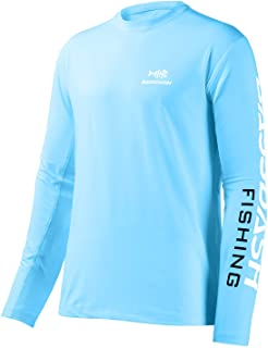 Bassdash Fishing T Shirts for Men UV Sun Protection UPF 50+ Long Sleeve Tee T-Shirt