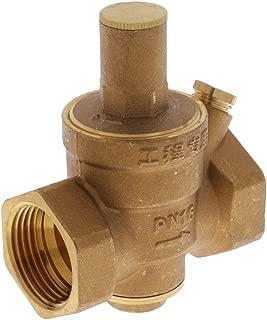 FLAMEER SEN-SZ21WA V/álvula Electromagn/ética de Lat/ón V/álvula de Entrada de Agua Normalmente Cerrada