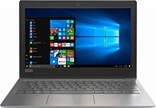 "Notebook Lenovo 120S Intel Celeron 2GB DDR4 RAM 32GB SSD eMMC Windows 10 Tela 11.6"" - Cinza"