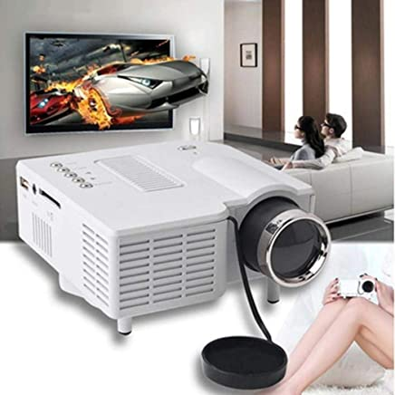 $113 Get Kikole Mini UC28 Home LED Portable Entertainment HD Projector for Android Video Projectors