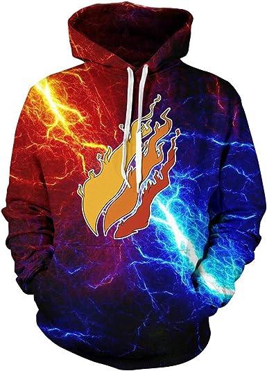 Fashion Pullover Flame Hoodie Preston Fire Nation Playz Gamer Kids//Teen Sweatshirt Size - 18-20//XL 7-8//S