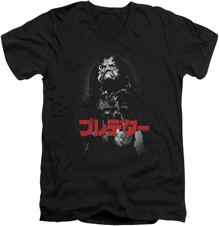 Predator - Mens Kanji V-Neck T-Shirt