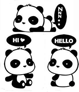 Cute Sleeping Dreaming Panda,Panda Hi,Panda Hello - MacBook Air 11