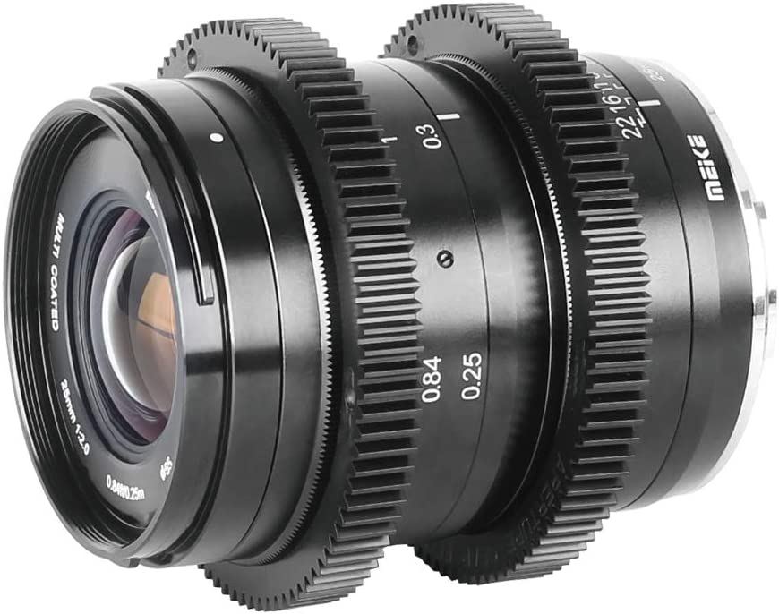 Meike Objektiv Für Fujifilm Kameras Wie Xt1 Xt2 Xt20 Xa10 25 Mm F 2 0 Geringe Verzerrung