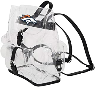 THE NORTHWEST COMPANY Denver Broncos NFL Lucia Clear Backpack