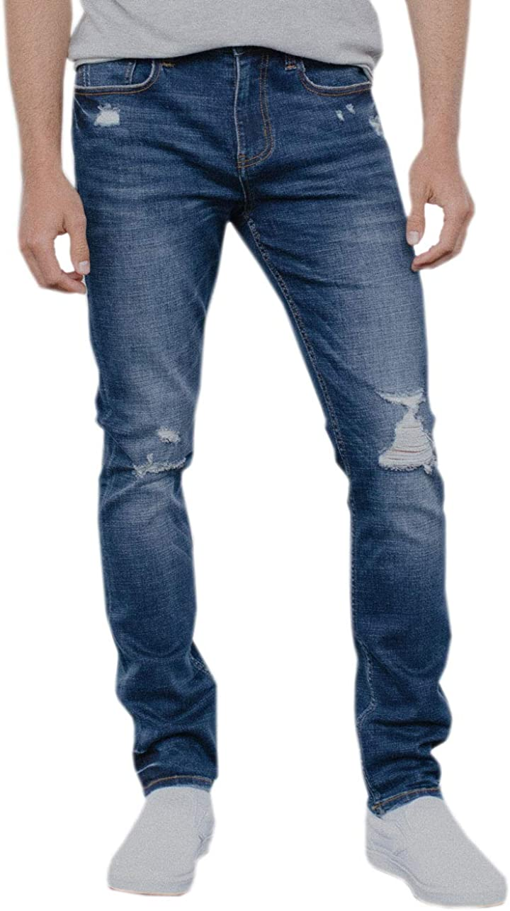 Rsq Skinny Dark Vintage Max 53% OFF Jeans Flex Recommended Ripped