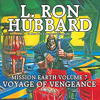 Voyage of Vengeance audiobook cover art