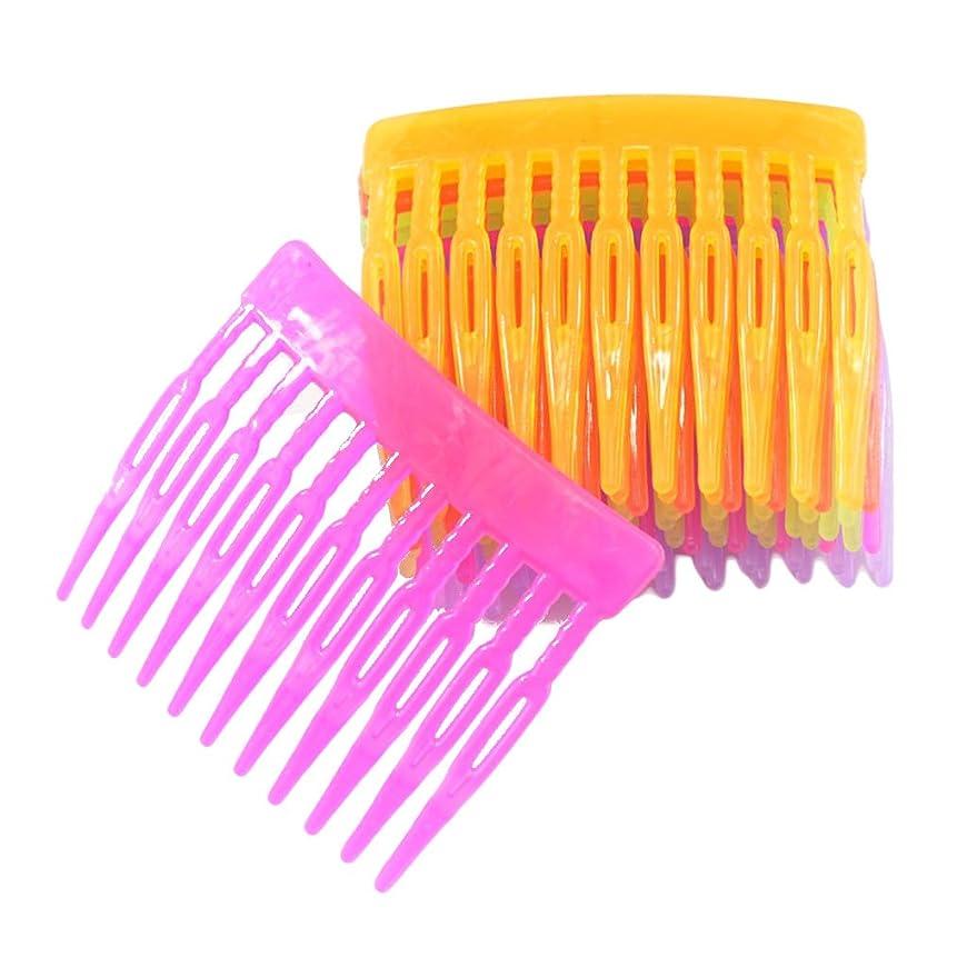 スタジアム従う米国Prettyia ヘアアクセサリー 10個入り 髪留め 混合色 DIY