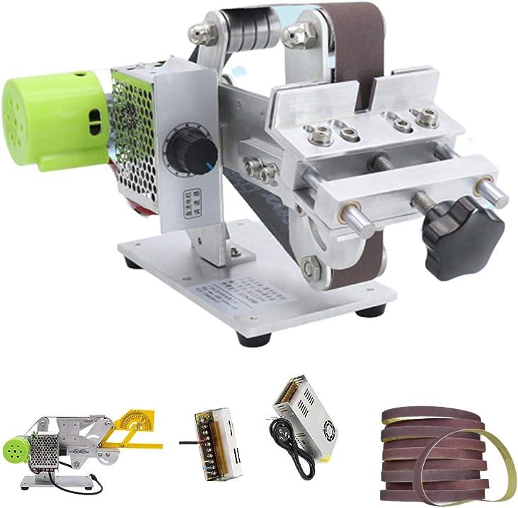 Smerigliatrice elettrica per coltello 895/997 per levigatrice a nastro micro (895 motore, 360w di potenza) ZMY-312E-SXL