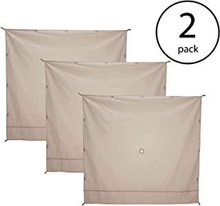 Gazelle Wind Panel Accessory for Portable Canopy Gazebo Screen Tents (6 Pack)